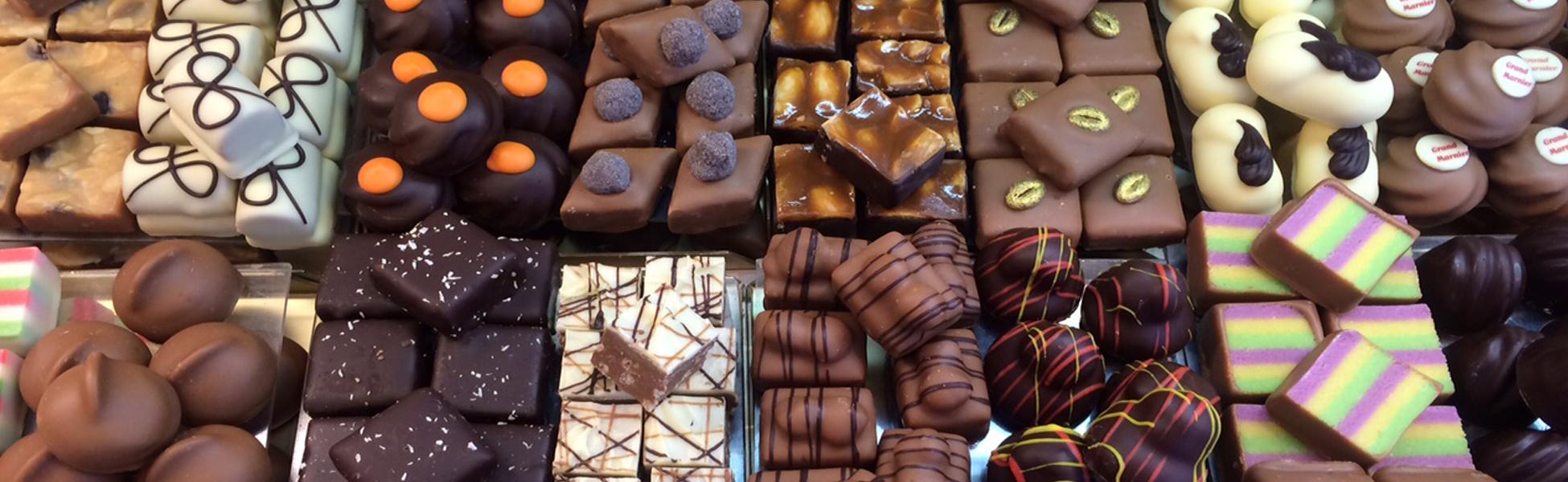 Liefde voor chocolade<br />en bonbons&#8230;