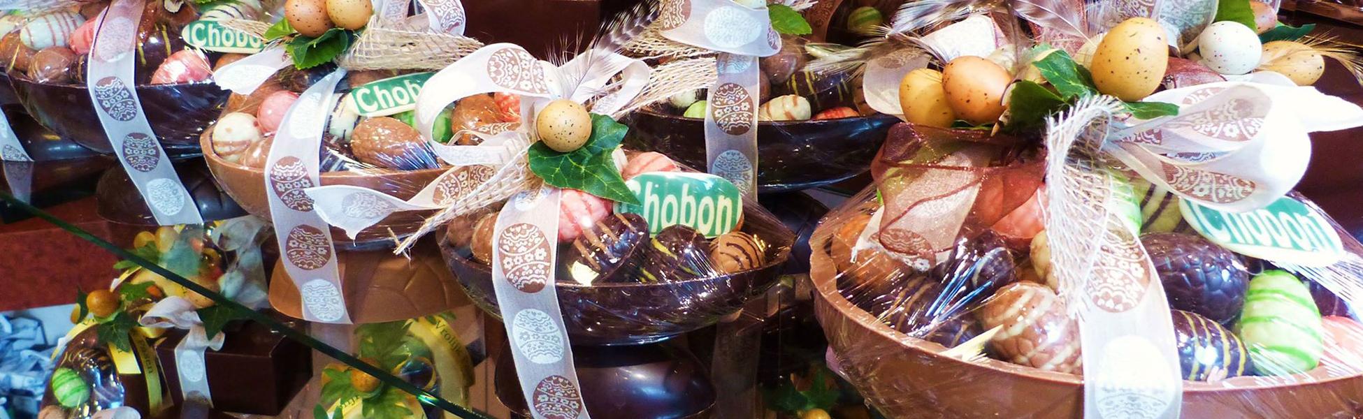 Wij wensen u een heerlijke chocolade Pasen